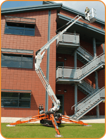 Cherry Picker in use