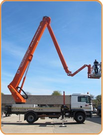 palfinger cherry picker for hire