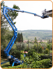 TRACCESS 170 cherry picker