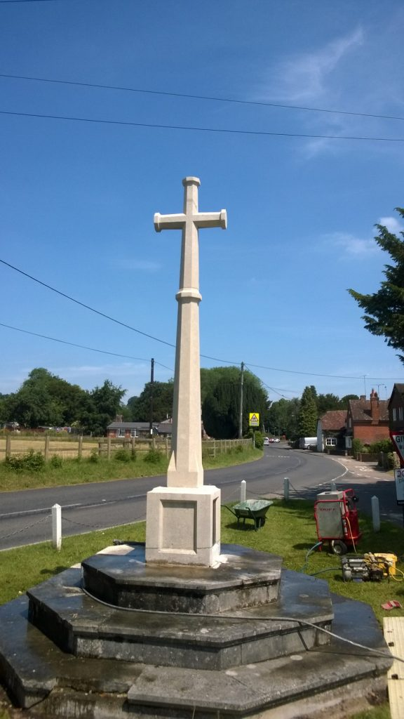 Memorial Doff Cleaning in Preston Candover