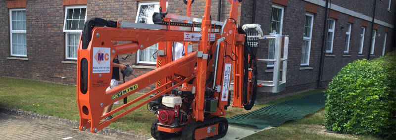 Homepage Slider Image - Cherry Picker Hire