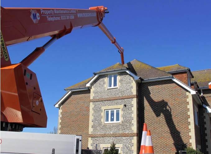 Roof maintenance (Bird Prevention)